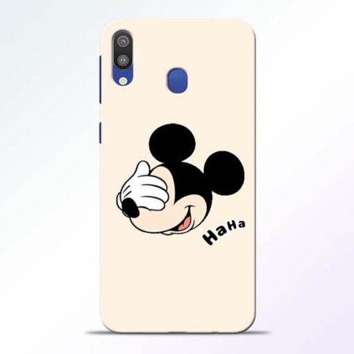 Mickey Face Samsung Galaxy M20 Mobile Cover