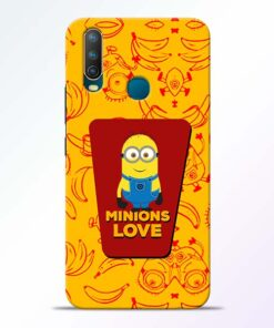 Minions Love Vivo U10 Mobile Cover