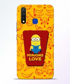 Minions Love Vivo U20 Mobile Cover