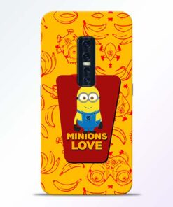 Minions Love Vivo V17 Pro Mobile Cover