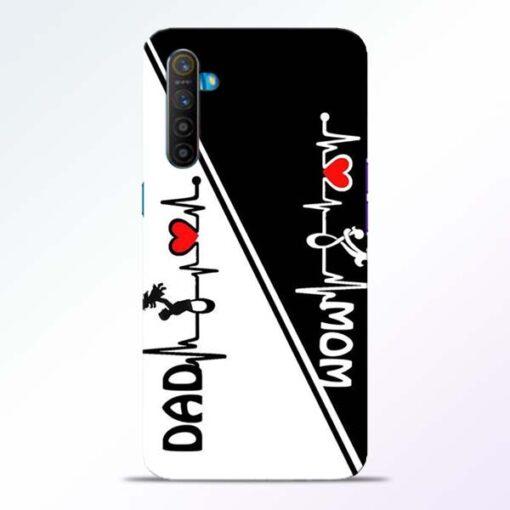 Mom Dad Realme XT Mobile Cover