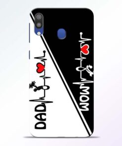 Mom Dad Samsung Galaxy M20 Mobile Cover