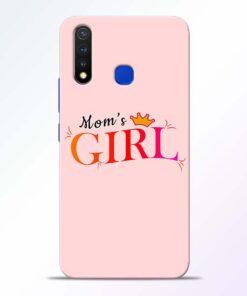 Mom Girl Vivo U20 Mobile Cover