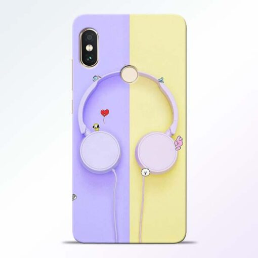 Music Lover Redmi Note 5 Pro Mobile Cover