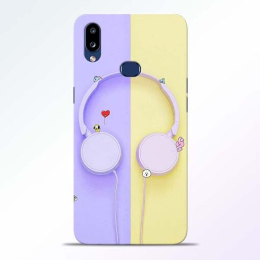 Music Lover Samsung Galaxy A10s Mobile Cover
