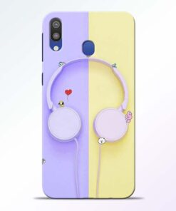 Music Lover Samsung Galaxy M20 Mobile Cover