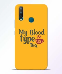 My Blood Tea Vivo U10 Mobile Cover