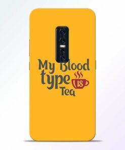 My Blood Tea Vivo V17 Pro Mobile Cover