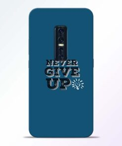 Never Give Up Vivo V17 Pro Mobile Cover