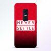 Never Settle Vivo V17 Pro Mobile Cover