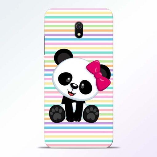 Panda Girl Redmi 8A Mobile Cover