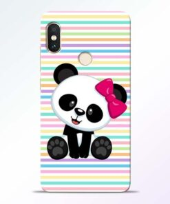 Panda Girl Redmi Note 5 Pro Mobile Cover