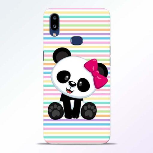 Panda Girl Samsung Galaxy A10s Mobile Cover