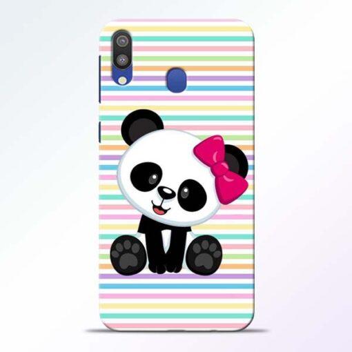 Panda Girl Samsung Galaxy M20 Mobile Cover