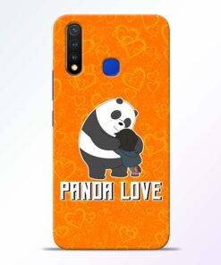 Panda Love Vivo U20 Mobile Cover