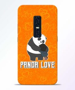 Panda Love Vivo V17 Pro Mobile Cover