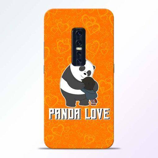 Panda Love Vivo V17 Pro Mobile Cover