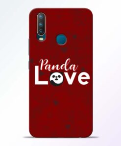 Panda Lover Vivo U10 Mobile Cover
