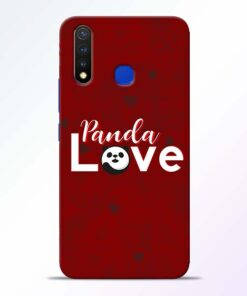 Panda Lover Vivo U20 Mobile Cover