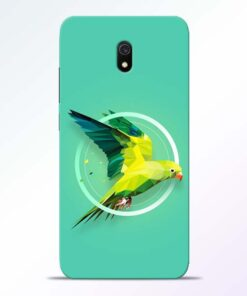 Parrot Art Redmi 8A Mobile Cover