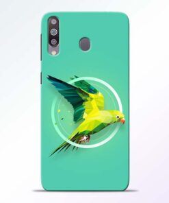Parrot Art Samsung Galaxy M30 Mobile Cover