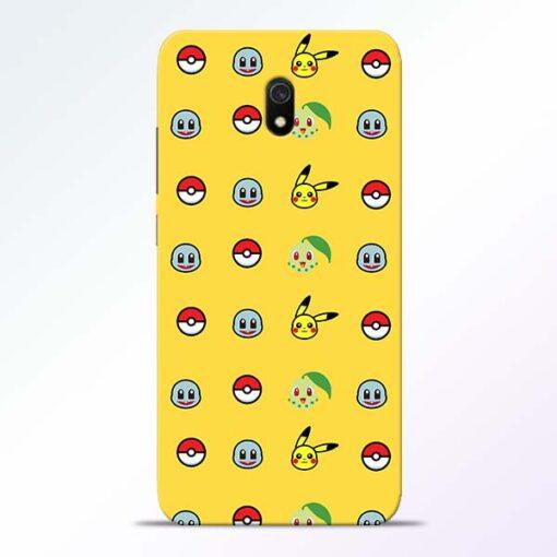 Pokemon Art Redmi 8A Mobile Cover