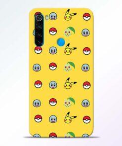 Pokemon Art Redmi Note 8 Mobile Cover