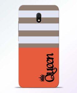 Queen Redmi 8A Mobile Cover