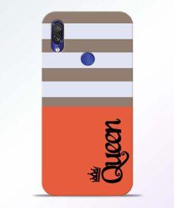 Queen Redmi Note 7 Pro Mobile Cover