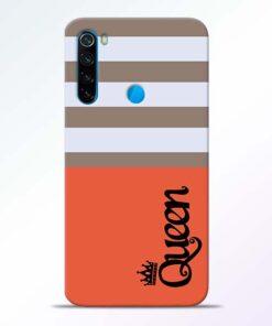 Queen Redmi Note 8 Mobile Cover