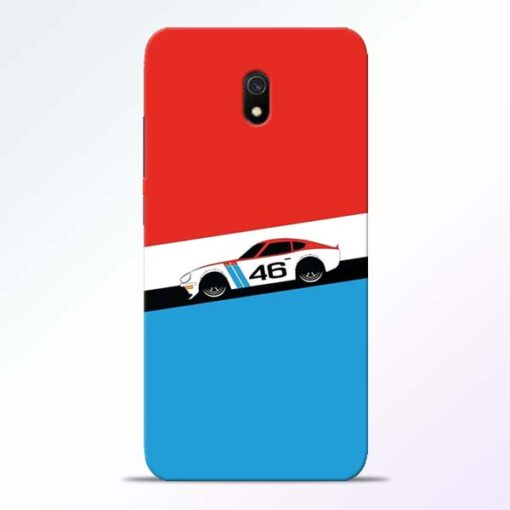 Racing Car Redmi 8A Mobile Cover
