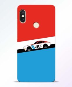 Racing Car Redmi Note 5 Pro Mobile Cover