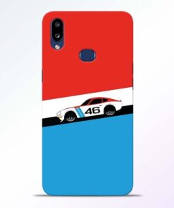Racing Car Samsung Galaxy A10s Mobile Cover