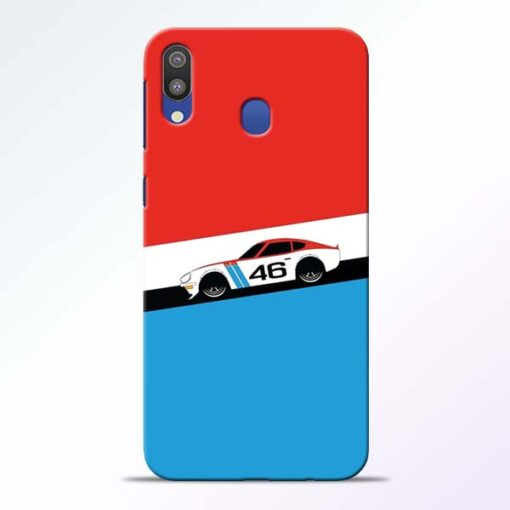Racing Car Samsung Galaxy M20 Mobile Cover