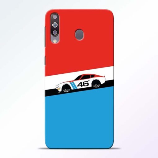 Racing Car Samsung Galaxy M30 Mobile Cover