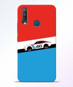 Racing Car Vivo U10 Mobile Cover
