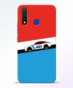 Racing Car Vivo U20 Mobile Cover