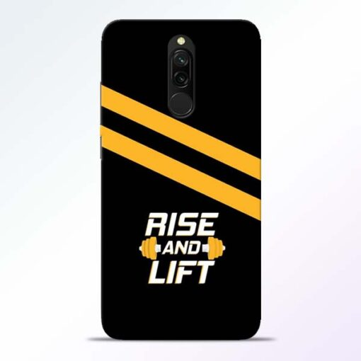 Rise and Lift Redmi 8 Mobile Cover