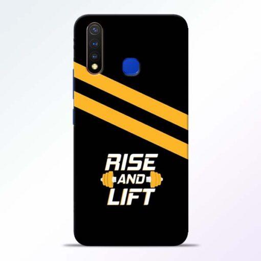 Rise and Lift Vivo U20 Mobile Cover