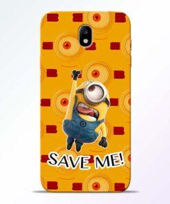 Save Minion Samsung Galaxy J7 Pro Mobile Cover