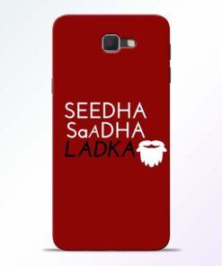Seedha Sadha Ladka Samsung Galaxy J7 Prime Mobile Cover