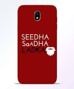 Seedha Sadha Ladka Samsung Galaxy J7 Pro Mobile Cover