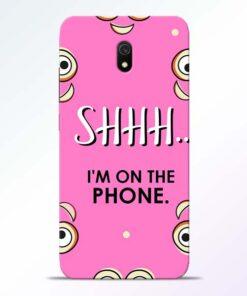 Shhh Phone Redmi 8A Mobile Cover