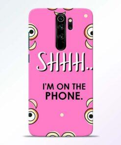 Shhh Phone Redmi Note 8 Pro Mobile Cover