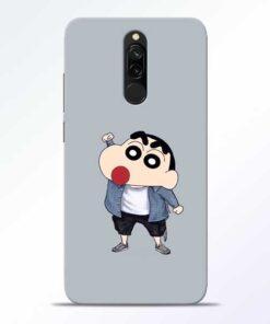 Shin Chan Redmi 8 Mobile Cover