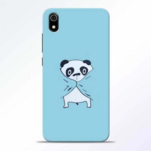 Shy Panda Redmi 7A Mobile Cover