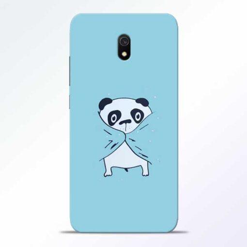 Shy Panda Redmi 8A Mobile Cover