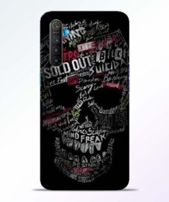 Skull Face Realme XT Mobile Cover
