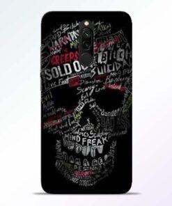 Skull Face Redmi 8 Mobile Cover