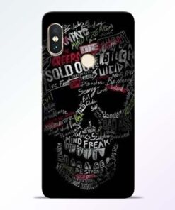 Skull Face Redmi Note 5 Pro Mobile Cover